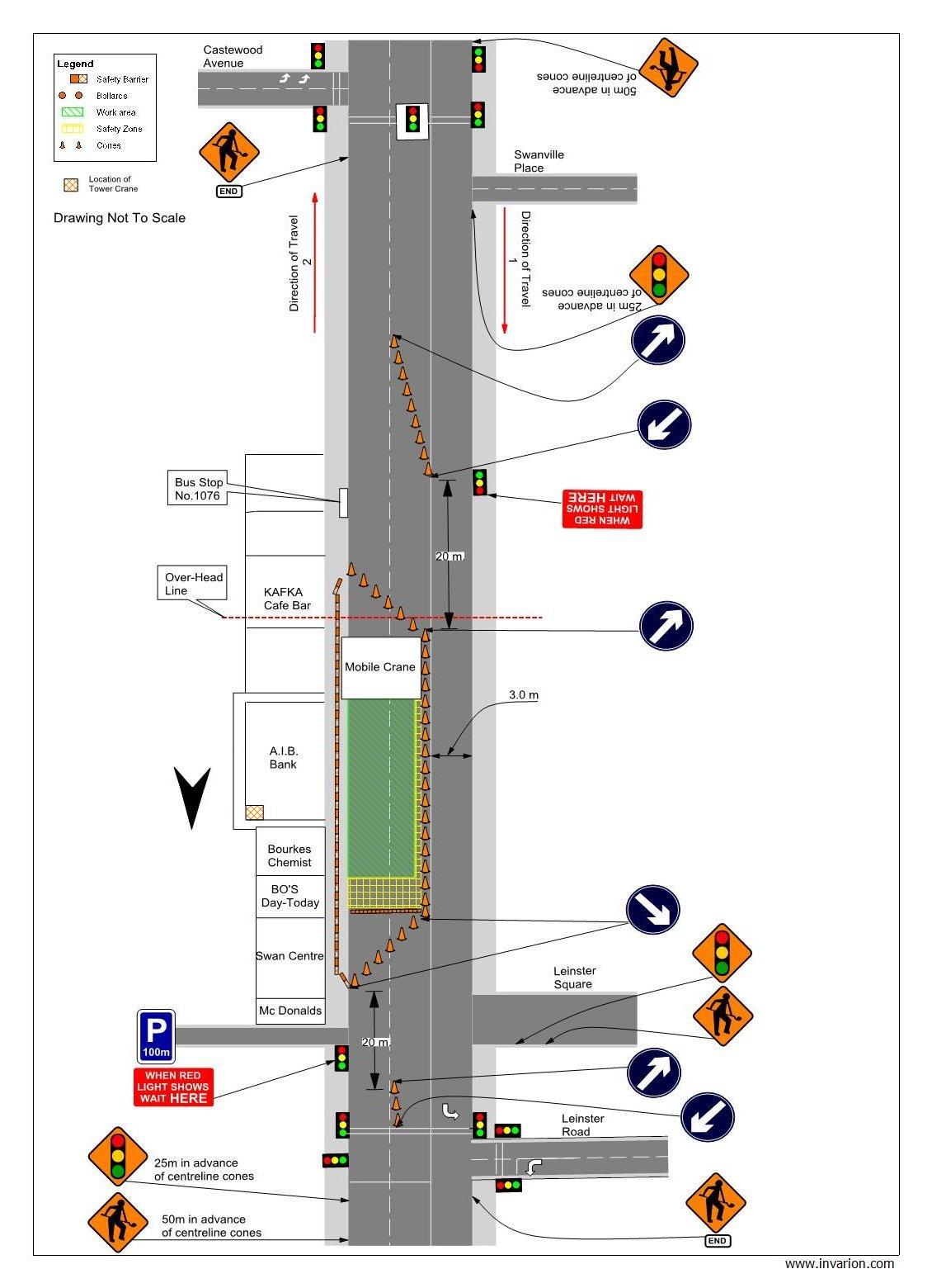 traffic management plans. Black Bedroom Furniture Sets. Home Design Ideas