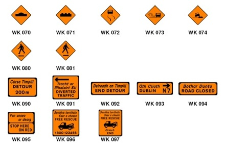 Road Signs For Sale >> Road Traffic Management Services - Roadwork Signs - Republic of Ireland